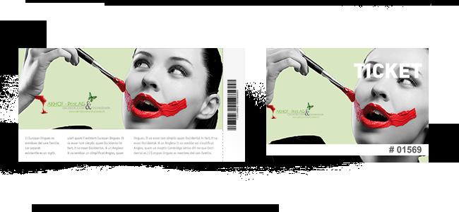 AKHOF-Print - Eintrittskarten