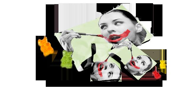 AKHOF-Print - Fruchtgummi